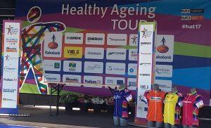 Frauen-Etappenrennen Siegerehrung