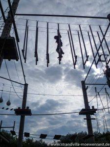 Alternativen zum Strand: Kletterpark auf Borkum